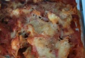 Tortellini-Champignons-Auflauf