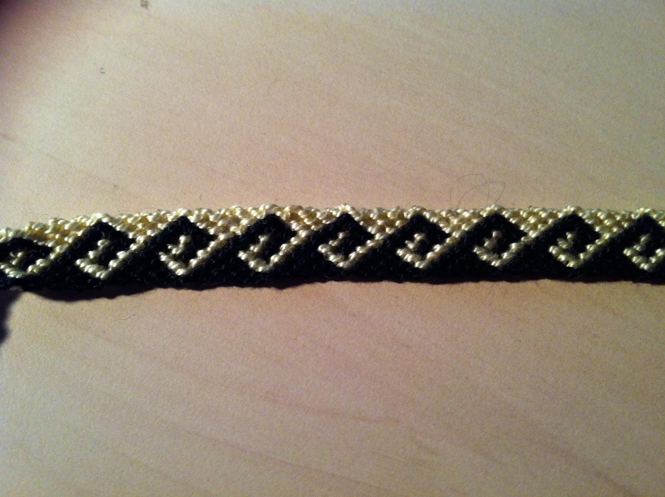 freundschaftsbnder auswahl freundschaftsband mit wellen freundschaftsband - Armbander Knupfen Muster